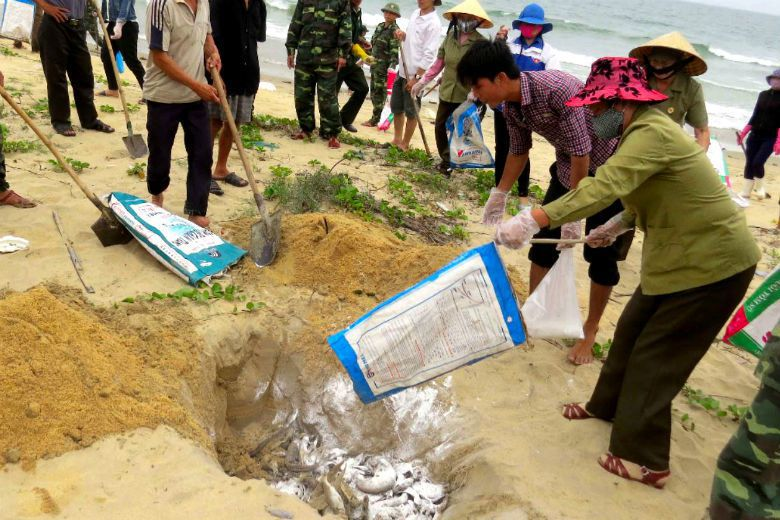 台塑河靜鋼鐵公司與越南政界有長期且深厚的互動基礎,做足了政治風險評估,台塑的卻忽...