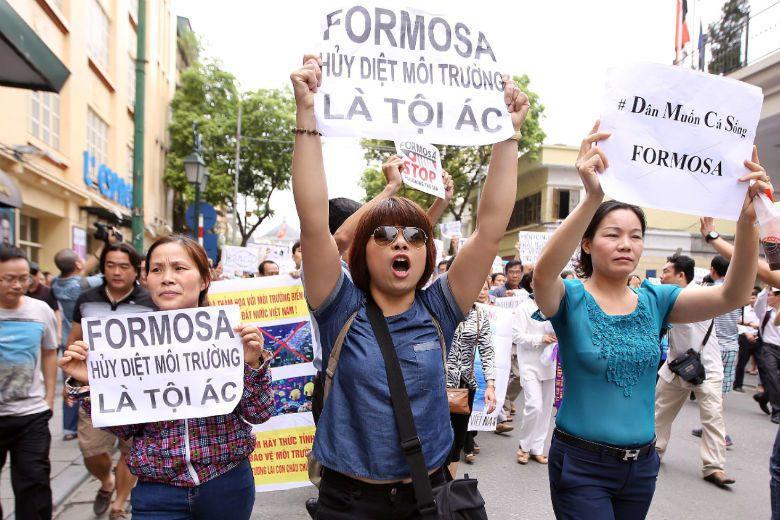 環境政治算什麼?越南這種專制國家有環境政治可言嗎?這是台灣方面最普遍的反應。 圖...