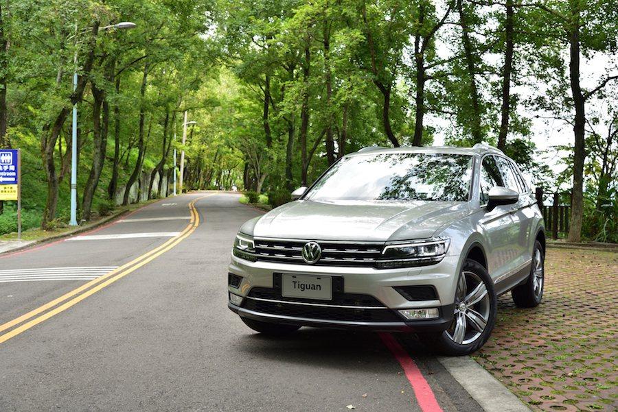Volkswagen品牌最熱銷的SUV車款Tiguan,將於9月初推出第2代車款...
