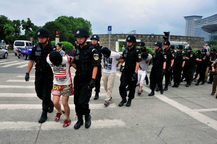 浙江警方破獲大型跨國販毒集團。 圖/新華社