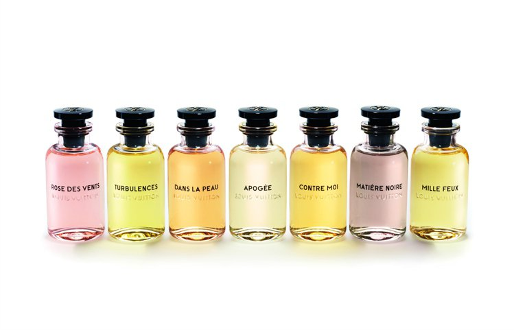 最新Les Parfums Louis Vuitton香水7種香味。圖/摘自cr...