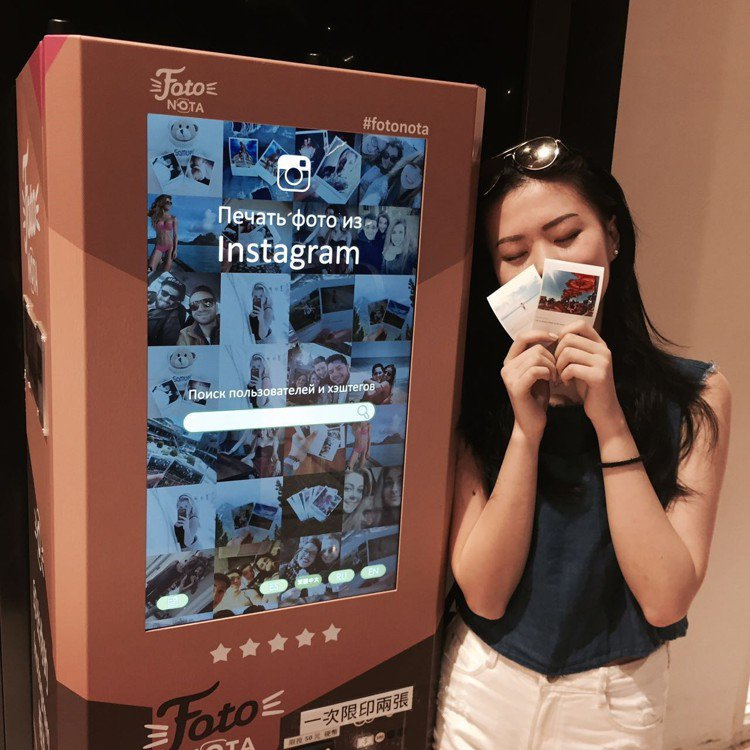 Instagram列印機「FotoNota」登台囉!列印時間約30秒,每2張50...