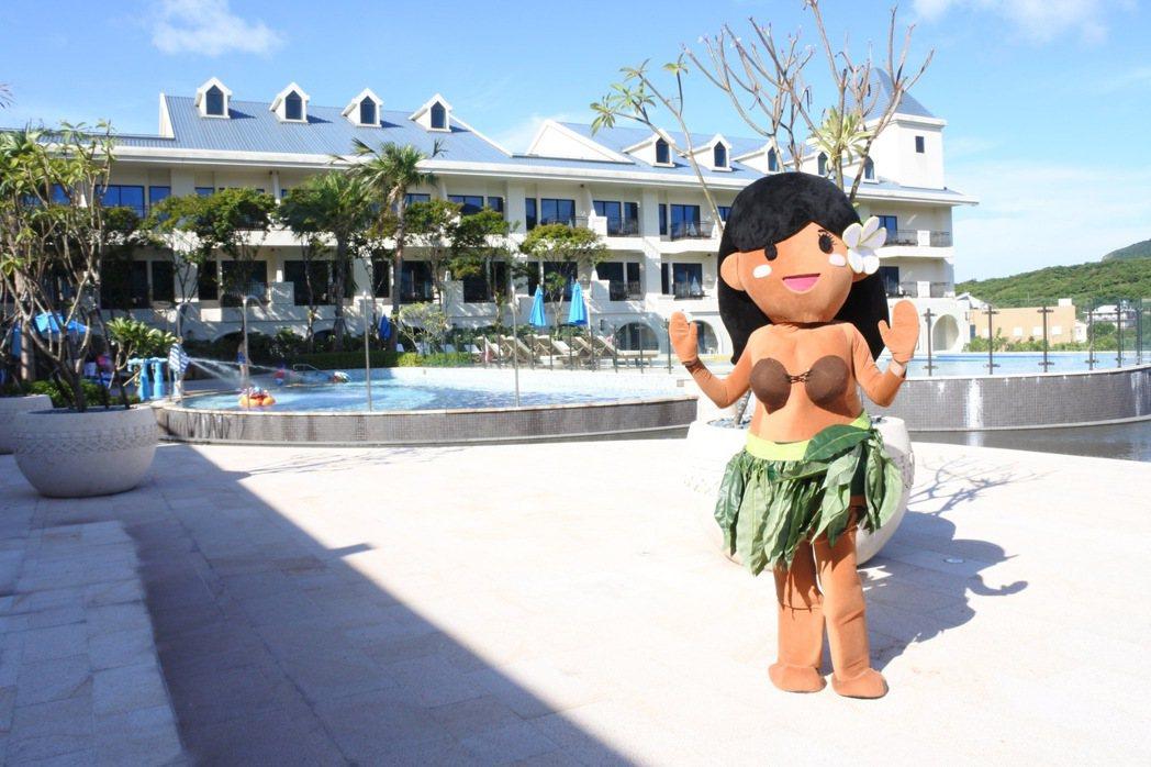 福容福隆飯店即日起至到9月30日推出夏威夷主題活動月。 圖/福容飯店提供