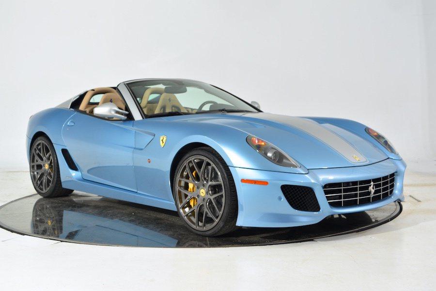 僅生產80輛的Ferrari 599 SA Aperta其中一輛近日被釋出販賣。...