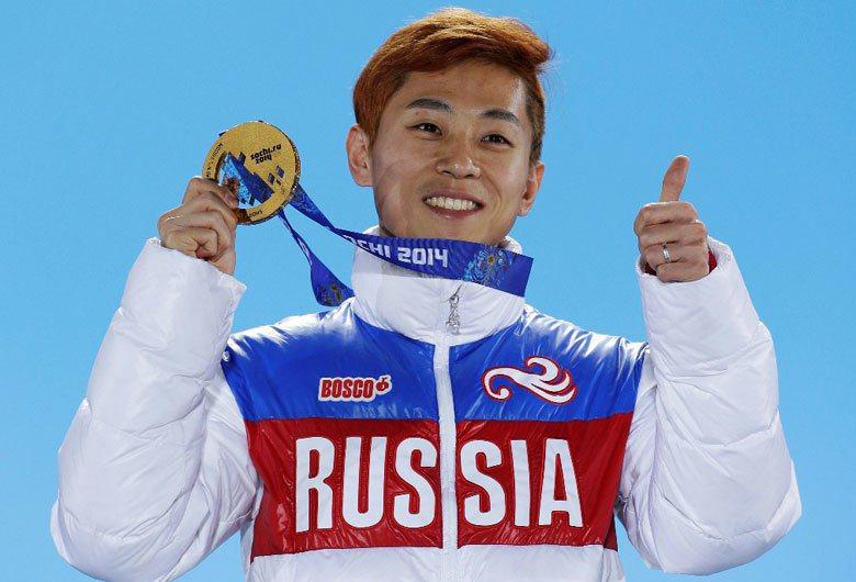 入籍俄羅斯的原南韓選手安賢洙。 圖/美聯社