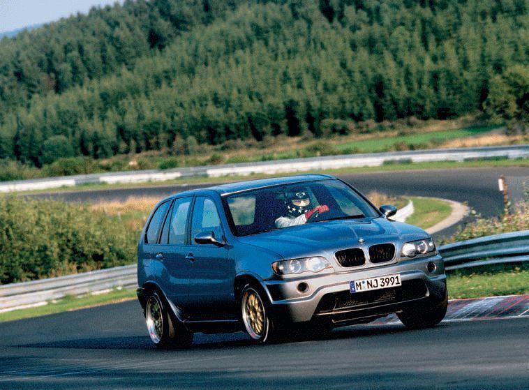 BMW X5 LM。 摘自banovsky.com