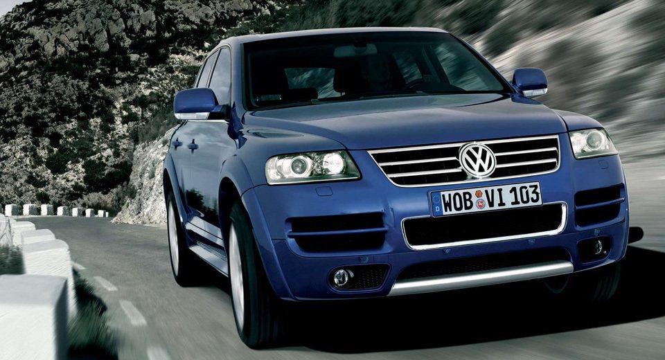 Volkswagen Touareg W12。 摘自carscoops.com