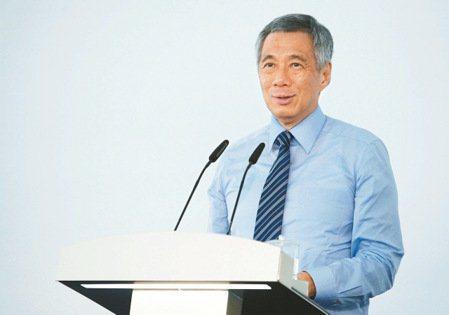 新加坡總理李顯龍。圖/路透社