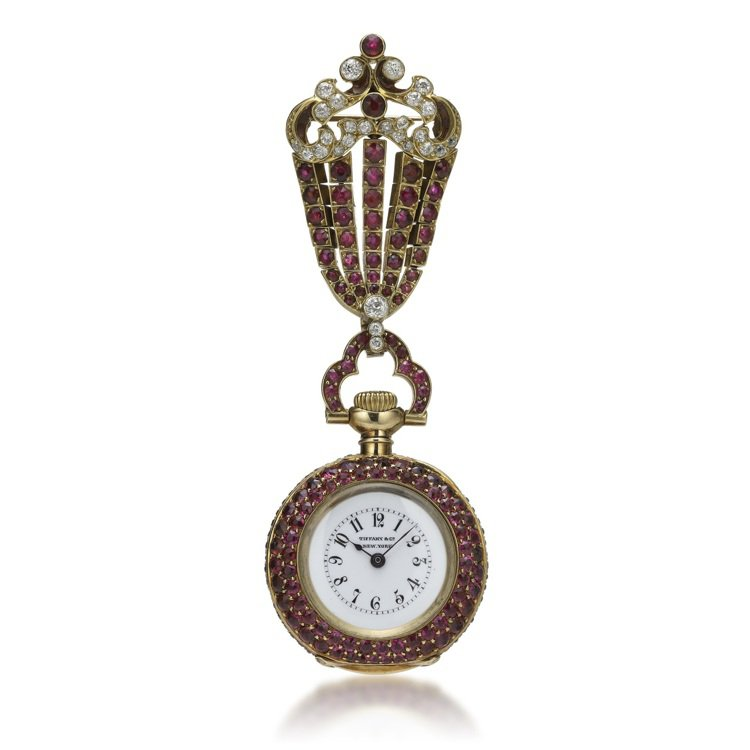 timeless design 4ebcd 41c57 骨董表迷注意Tiffany古典表101現身| 腕錶時計| 珠寶鐘表| udnSTYLE