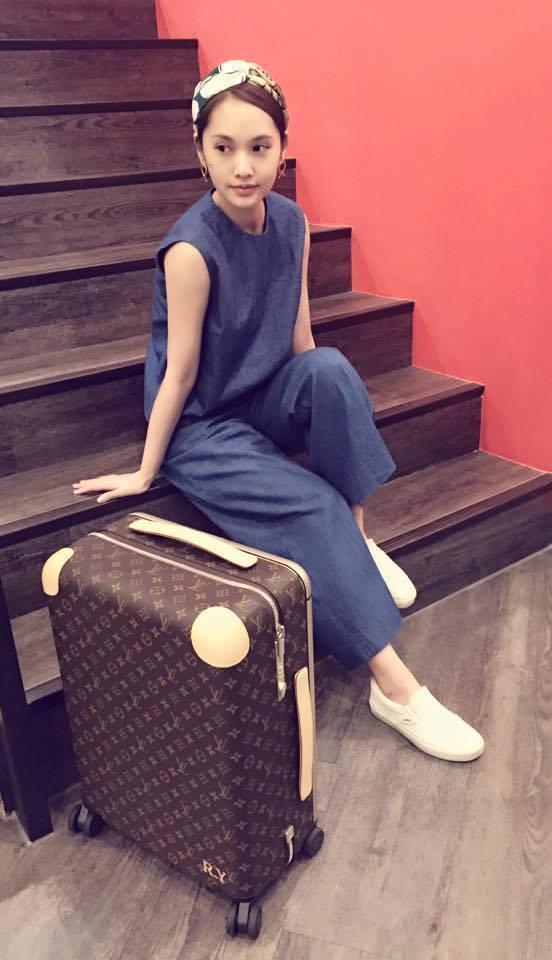 近兩季都受邀出席看LV秀的楊丞琳,也是品牌新系列行李箱愛用者。圖/LV提供