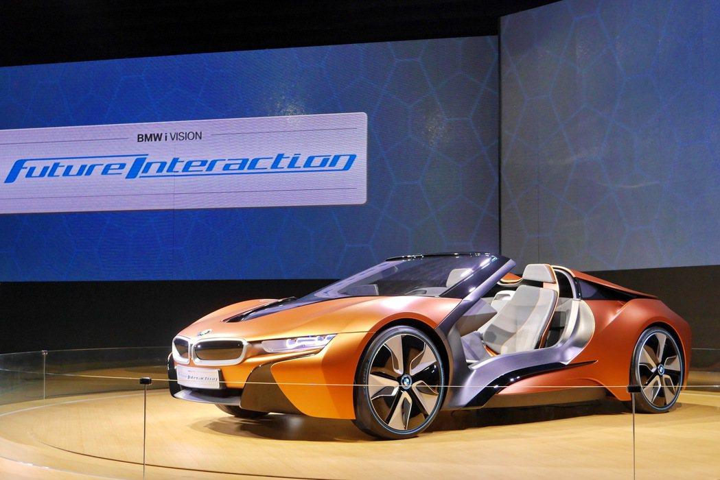 BMW i Vision Future Interaction 記者陳威任/攝影