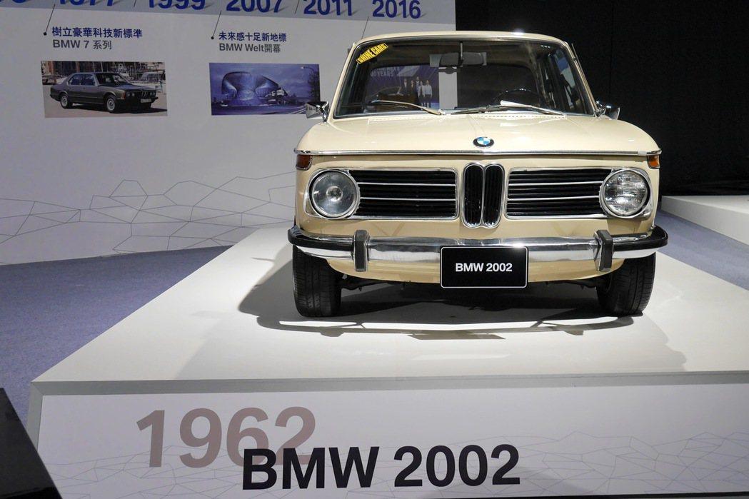 BMW 2002。 記者陳威任/攝影