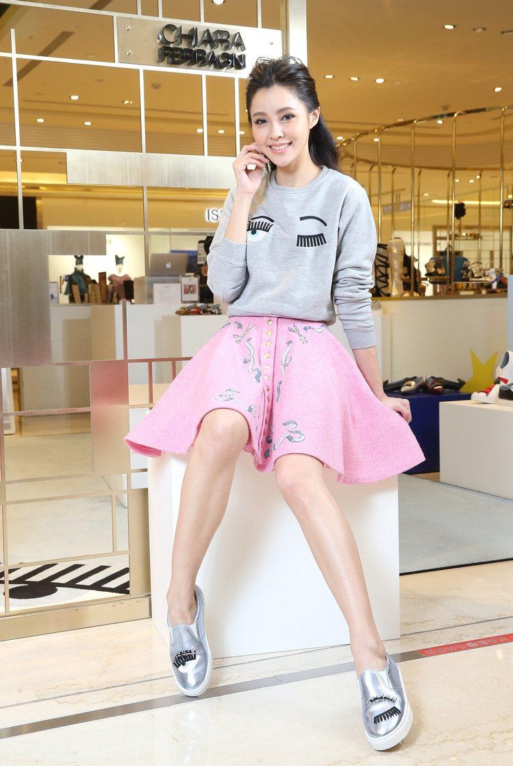Chiara Ferragni的Capsule系列,首次推出鋪棉長袖T Shir...