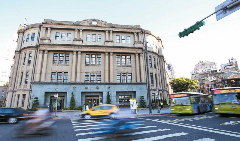台北郵局公辦都更 將變身「中華郵政塔」