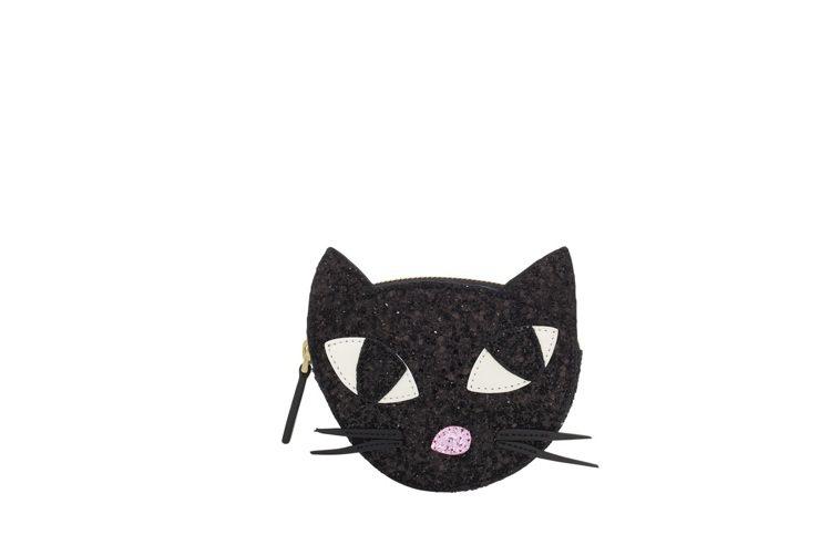 俏皮黑貓零錢包,3680元。圖/LULU GUINNESS提供