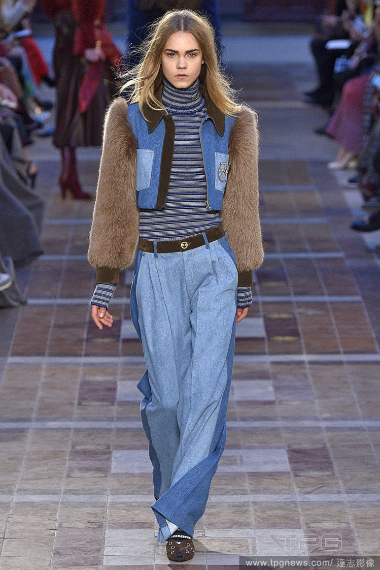 Sonia Rykiel Fall Winter 2016。圖/達志影像