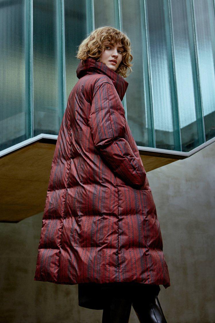Marimekko秋冬羽絨外套,26450元。圖/永三提供