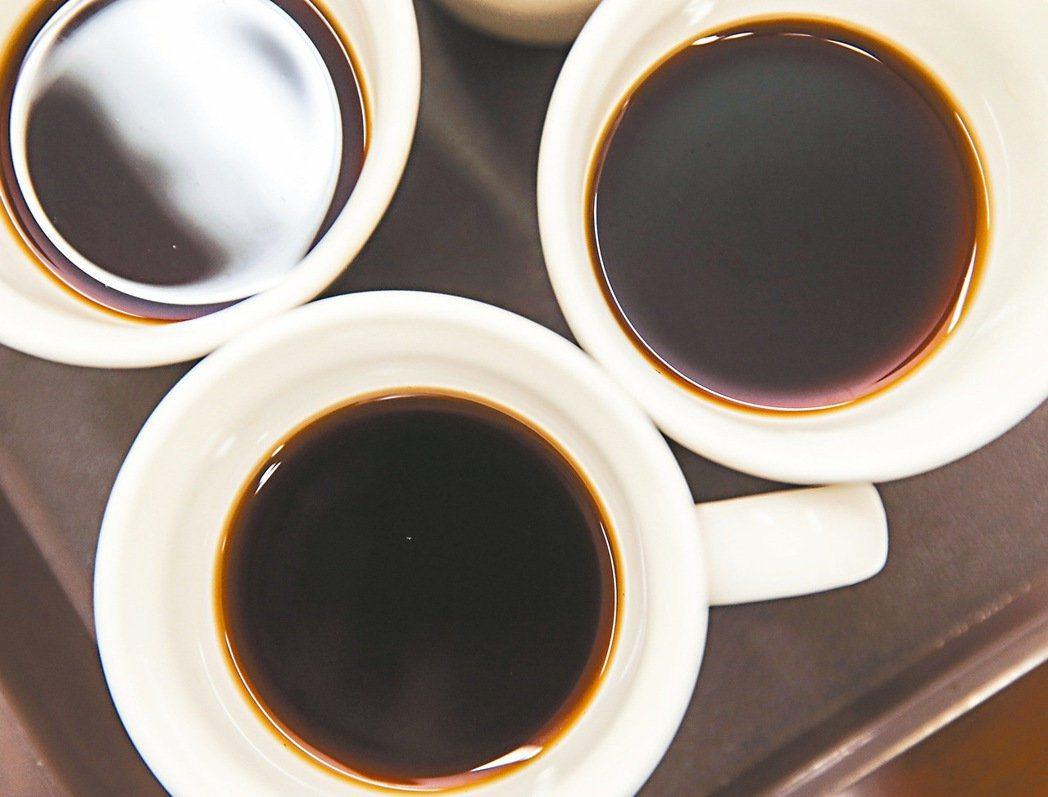 喝咖啡務必要適量,每天不要超過一杯。 本報系資料照