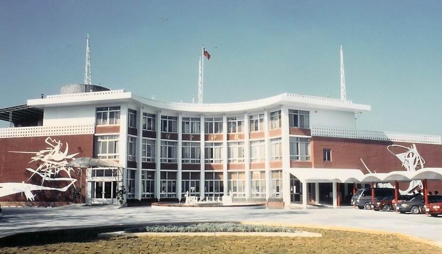 興建於1960年的日月潭教師會館在1999年的921大地震中倒塌,目前已重建完成...