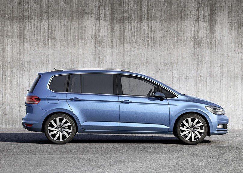 2017年式Volkswagen Touran。 圖/台灣福斯汽車提供