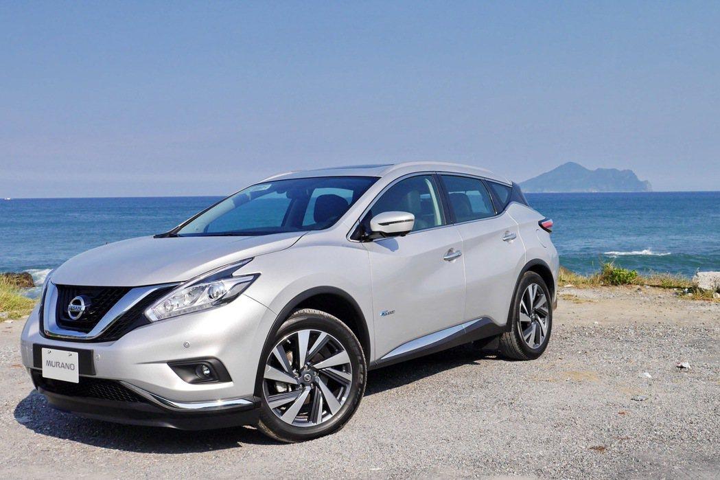 Nissan MURANO HYBRID。 記者陳威任/攝影