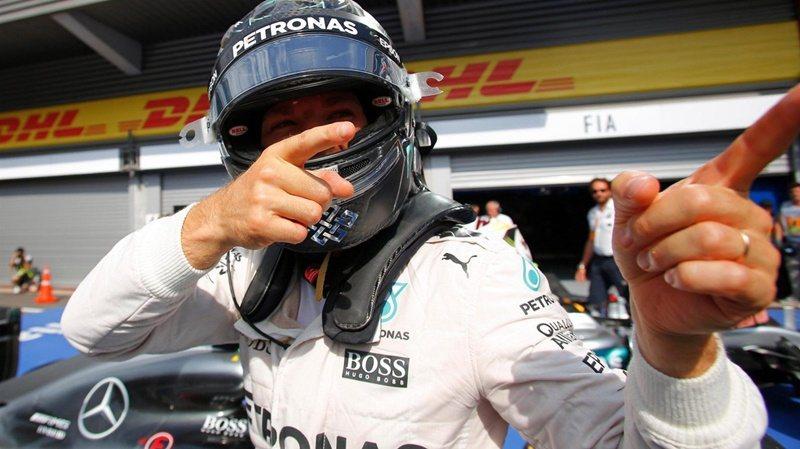 F1賽季第13站在比利時Spa-Francorchamps賽道展開,MERCED...