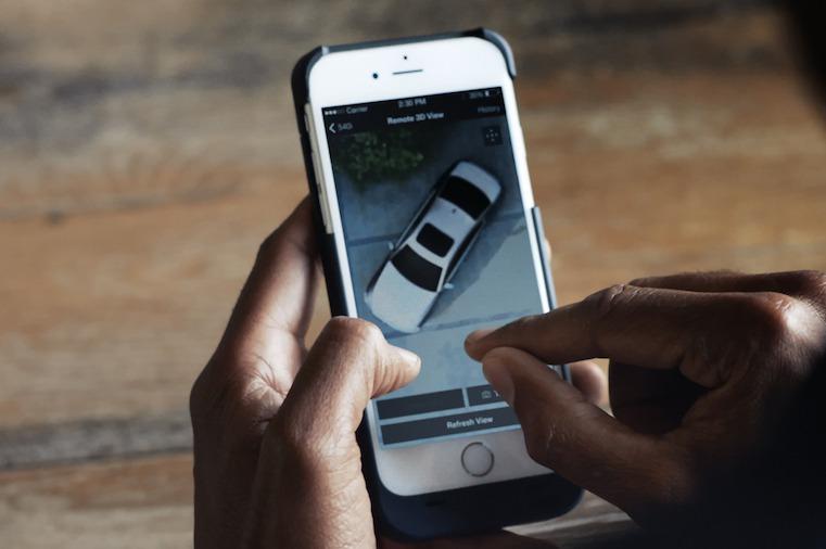 下一代BMW 5系列 可用手機鳥瞰車輛