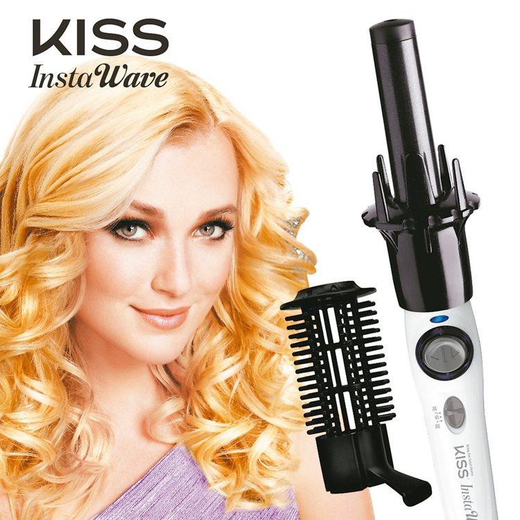 美國KISS全自動電捲棒,定價2480元。 鼎利環球企業/提供