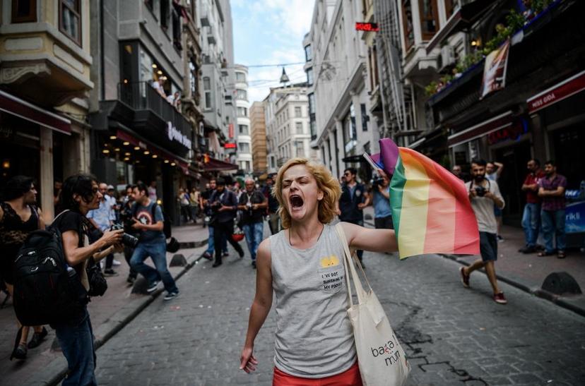 今年6月土耳其的同性戀大遊行遭土國政府以「安全因素」為為由禁止集會,引發當地LG...