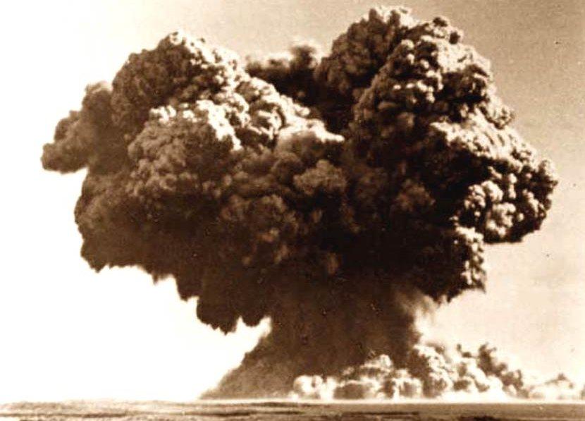 二戰之後,在首相艾德禮的全力推動下,英國於1952年進行首次核試爆——「颶風行動...