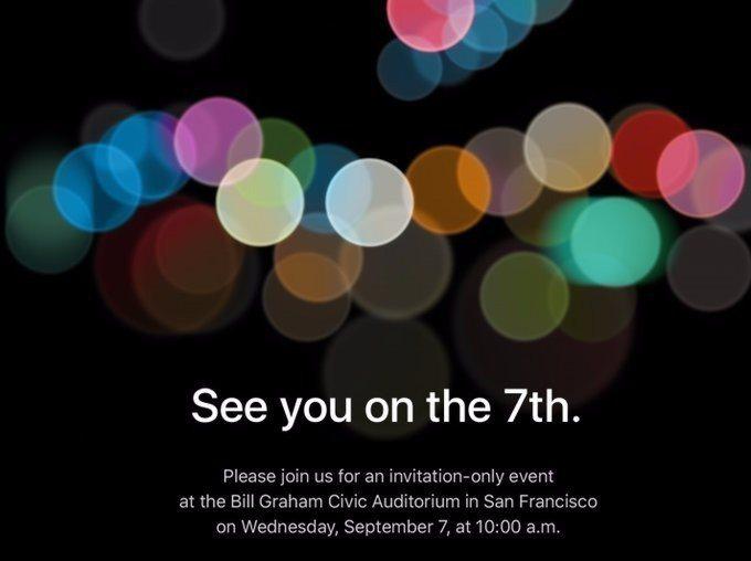 蘋果宣布將於9月7日舉辦新品發表會,台灣時間為9月8日凌晨1點。圖/摘自網路