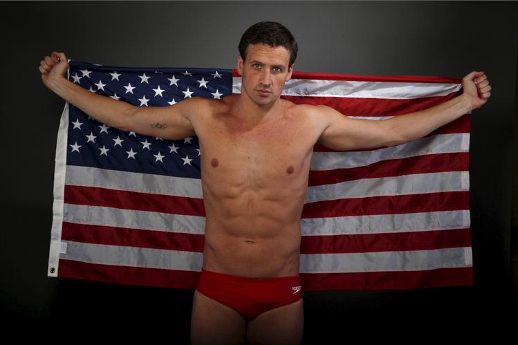 美國奧運游泳金牌得主洛克特因撒謊形象下跌。圖/路透資料照片