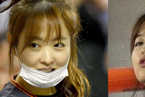 飾演韓劇「鬼神大人」女主角朴寶英日前就曾被民眾在棒球場直擊觀看球賽,30日她再度現身棒球場,低調的她還刻意戴上口罩遮掩。不過這也意外曝光了她素顏的模樣,照片中的她還穿著棒球衣為場上球員加油。
