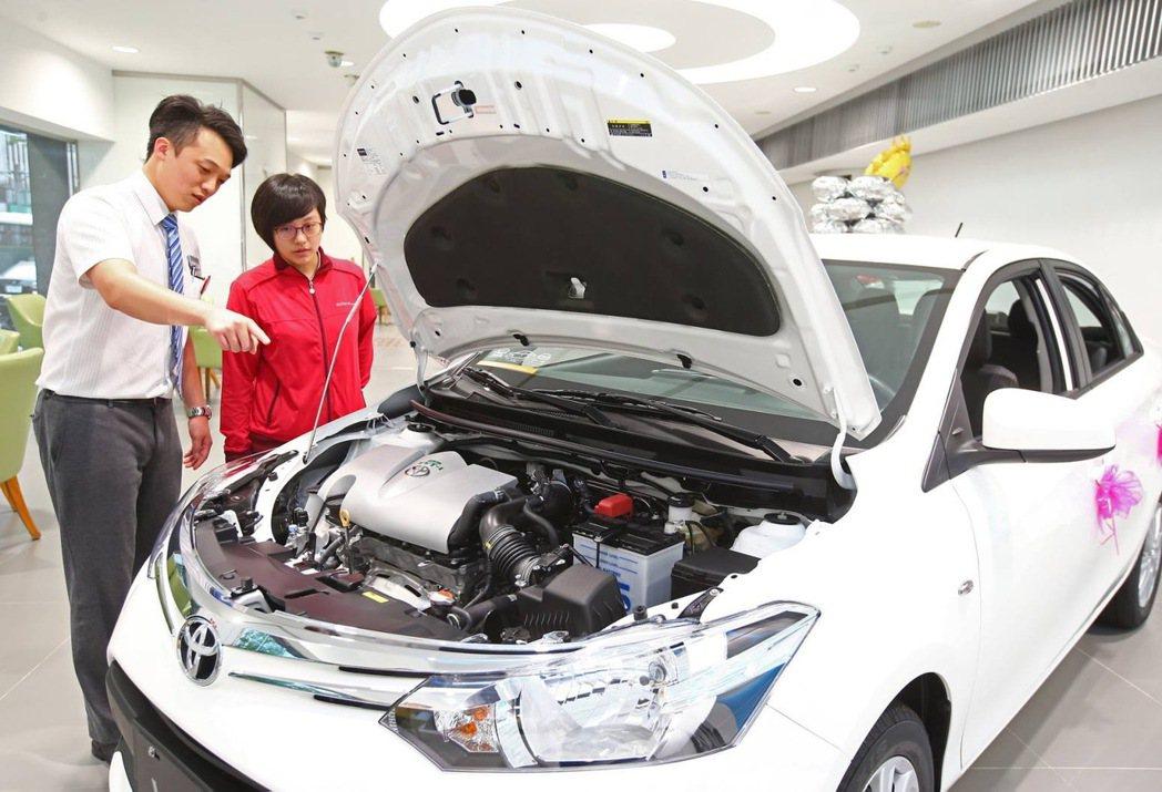 面對年輕車主的需求,考驗車商服務表現。 記者陳柏亨/攝影