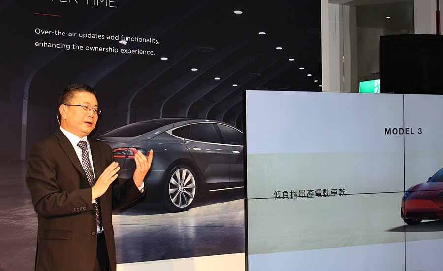 Tesla全球副總裁暨亞太區總裁任宇翔表示,台灣政府相當支持電動車的發展,加上相...