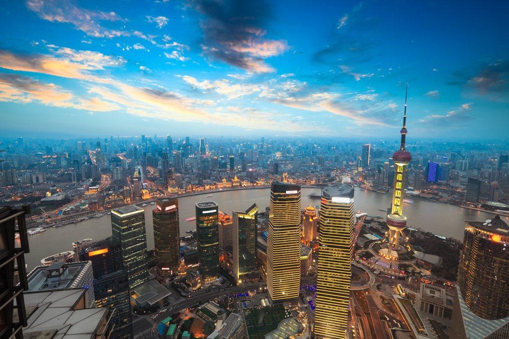 圖為上海房地產。(取材自微博)