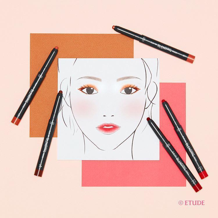 ETUDE HOUSE筆筆皆飾~妝模術101暈染畫筆讓化妝像畫畫一樣有趣,售價3...