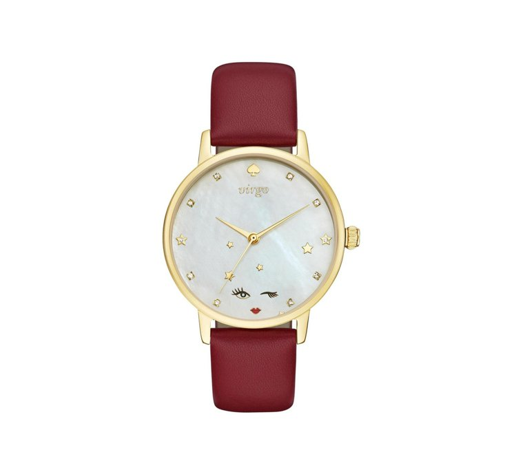 Kate Spade New York星座系列腕表,8,000元。圖/Fossi...