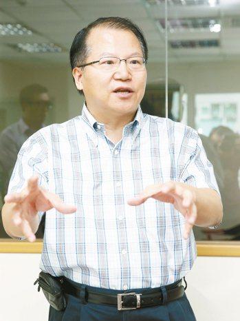 廣越總經理吳朝筆 記者陳瑞源/攝影