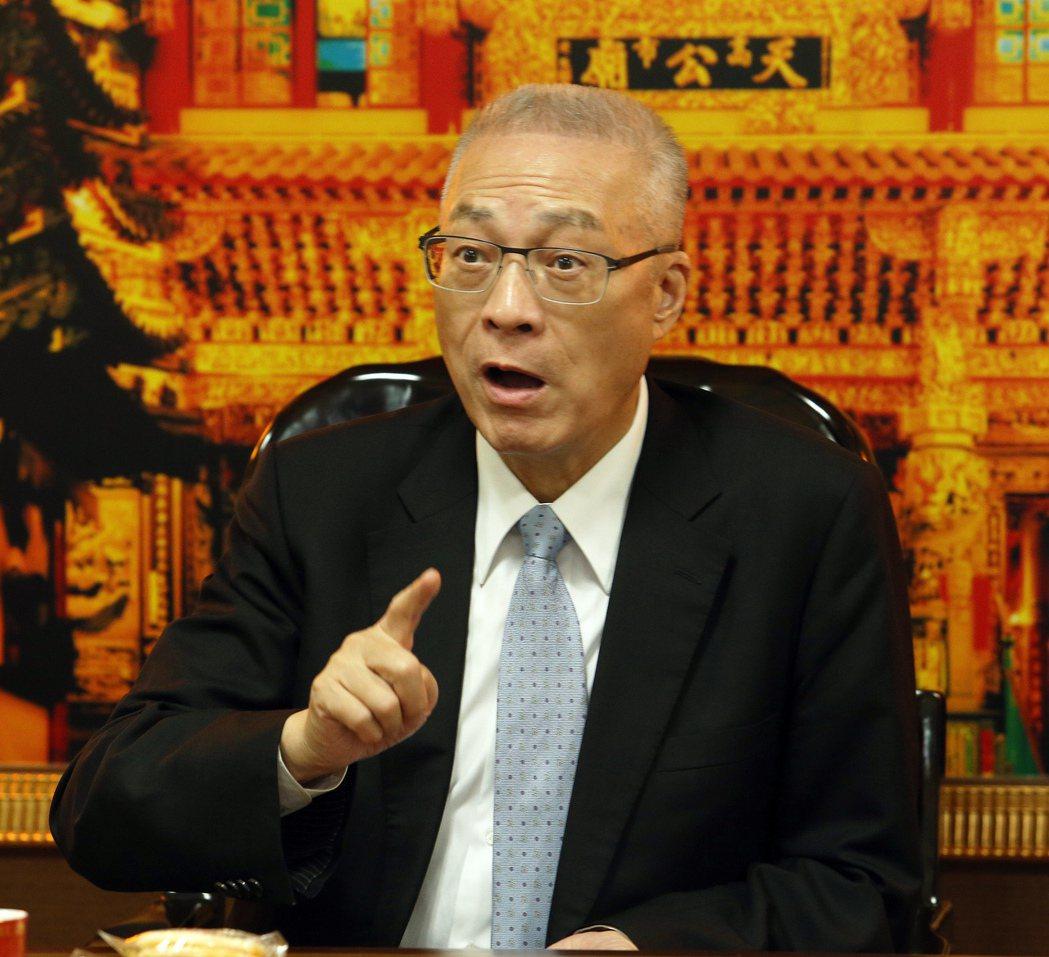黨部主委直選 吳敦義:無關黨主席選舉