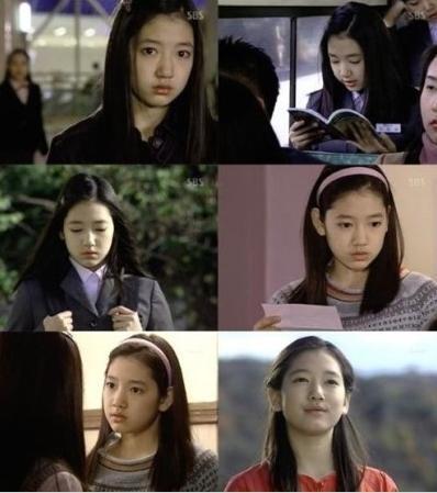 朴信惠以「天國的階梯」童星角色出道。圖/摘自mf.techbang.com