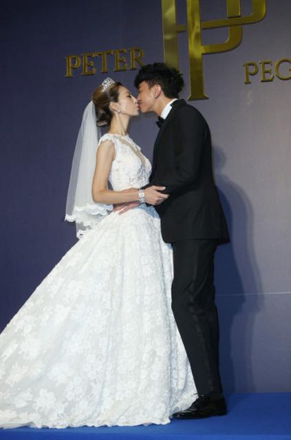 何潤東、林靜儀大婚。本報資料照片