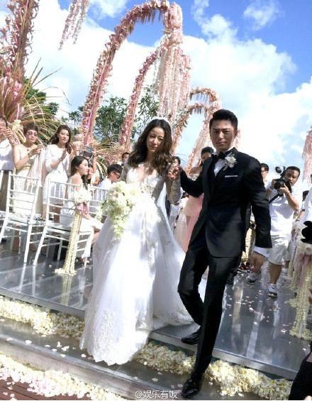 林心如、霍建華大婚。圖/摘自微博