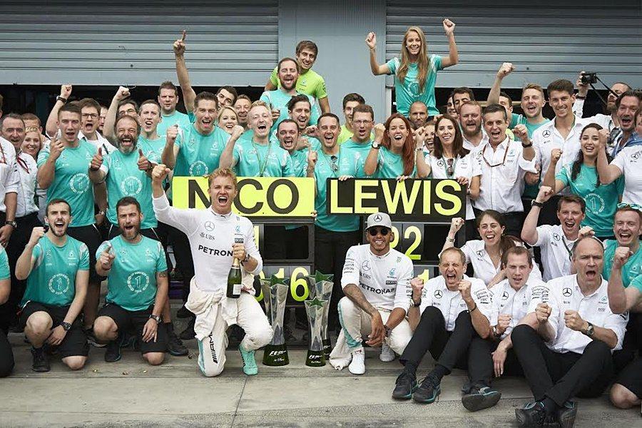 Mercedes車隊提供