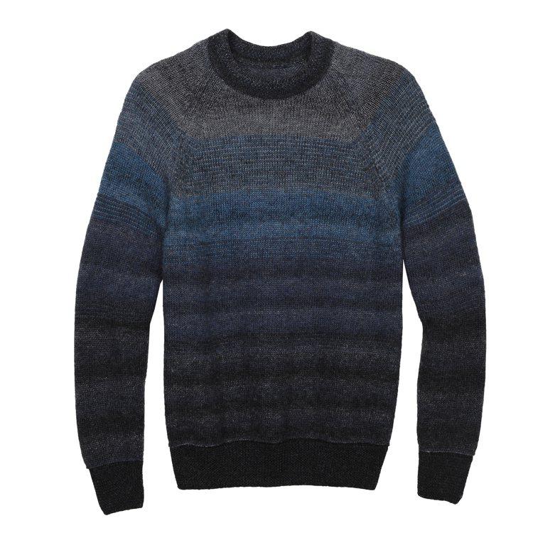 Victorinox Gradient羊毛毛衣,8,600元。圖/Victori...