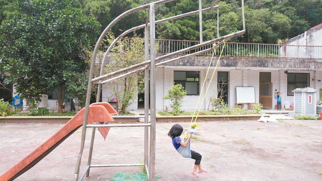 放空的校地 「很完美啊!」 記者張芮瑜/攝影