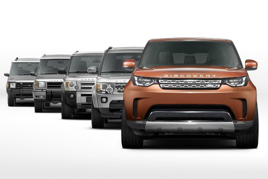 全新 Discovery 將採用新式鋁合金底盤模組,提供更出色的操控運動性。 摘...