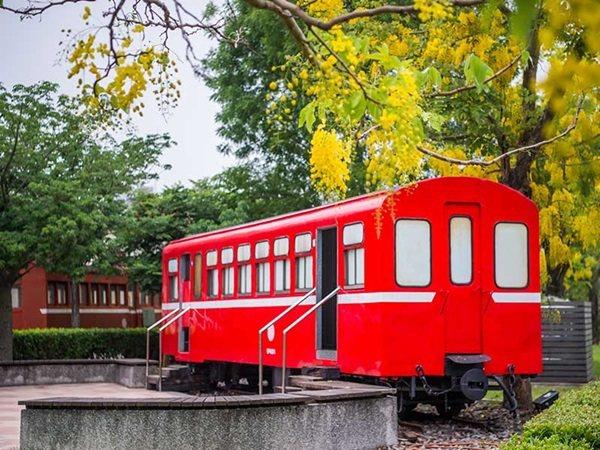 阿里山車庫園區曾是小火車修理工廠。 圖/嘉市府提供