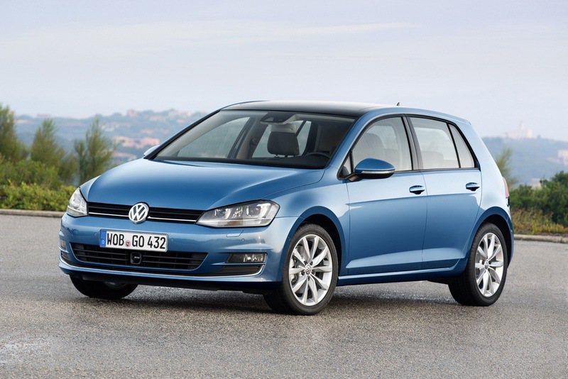 Volkswagen Golf本月推出72萬元48期零利率貸款優惠。圖/台灣福斯...
