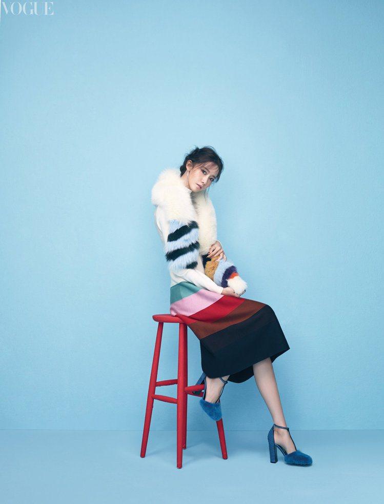潤娥接受時尚雜誌專訪。圖/VOGUE提供